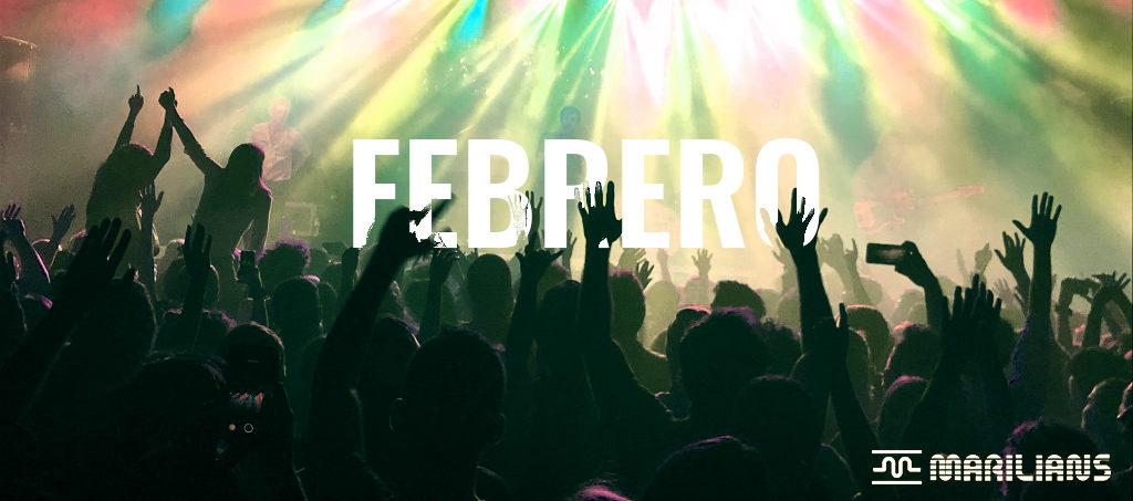 Febrero nos vamos de concierto con…