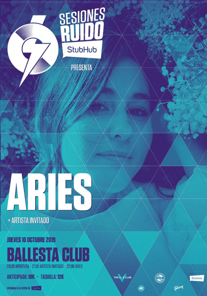 Aries en octubre en las #SesionesRuidobyStubHub
