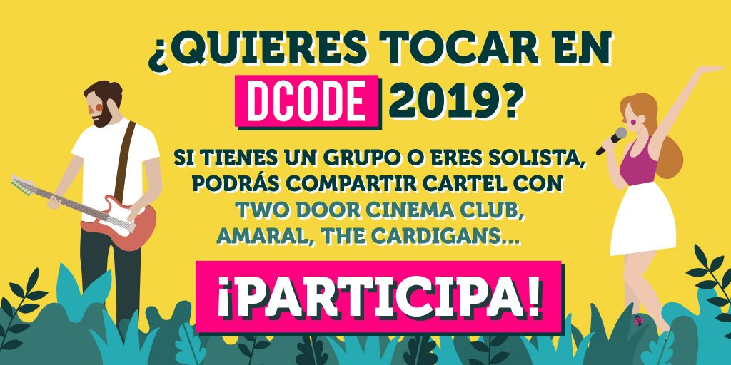 BDCODER, el concurso de bandas del DCODE, arranca de nuevo