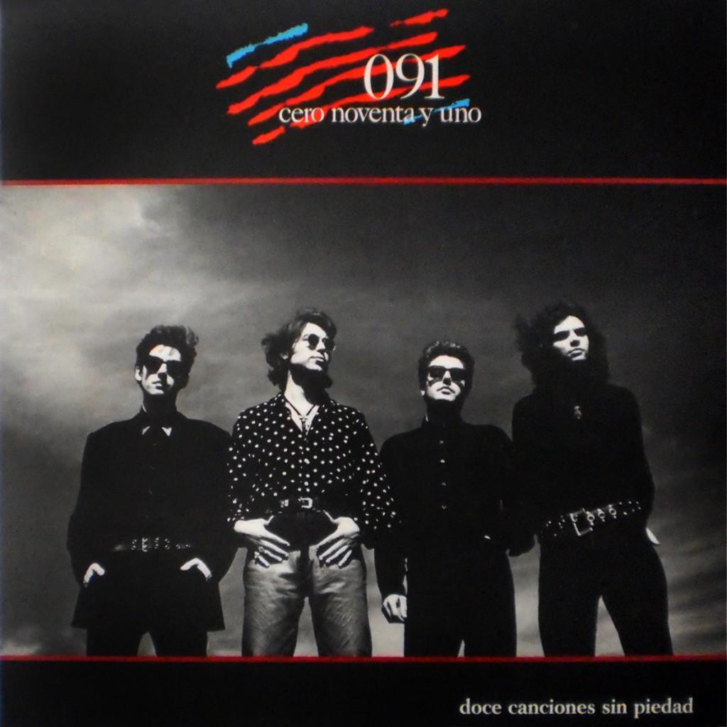 """091 """"Doce canciones sin piedad"""" (Zafiro, 1989)"""