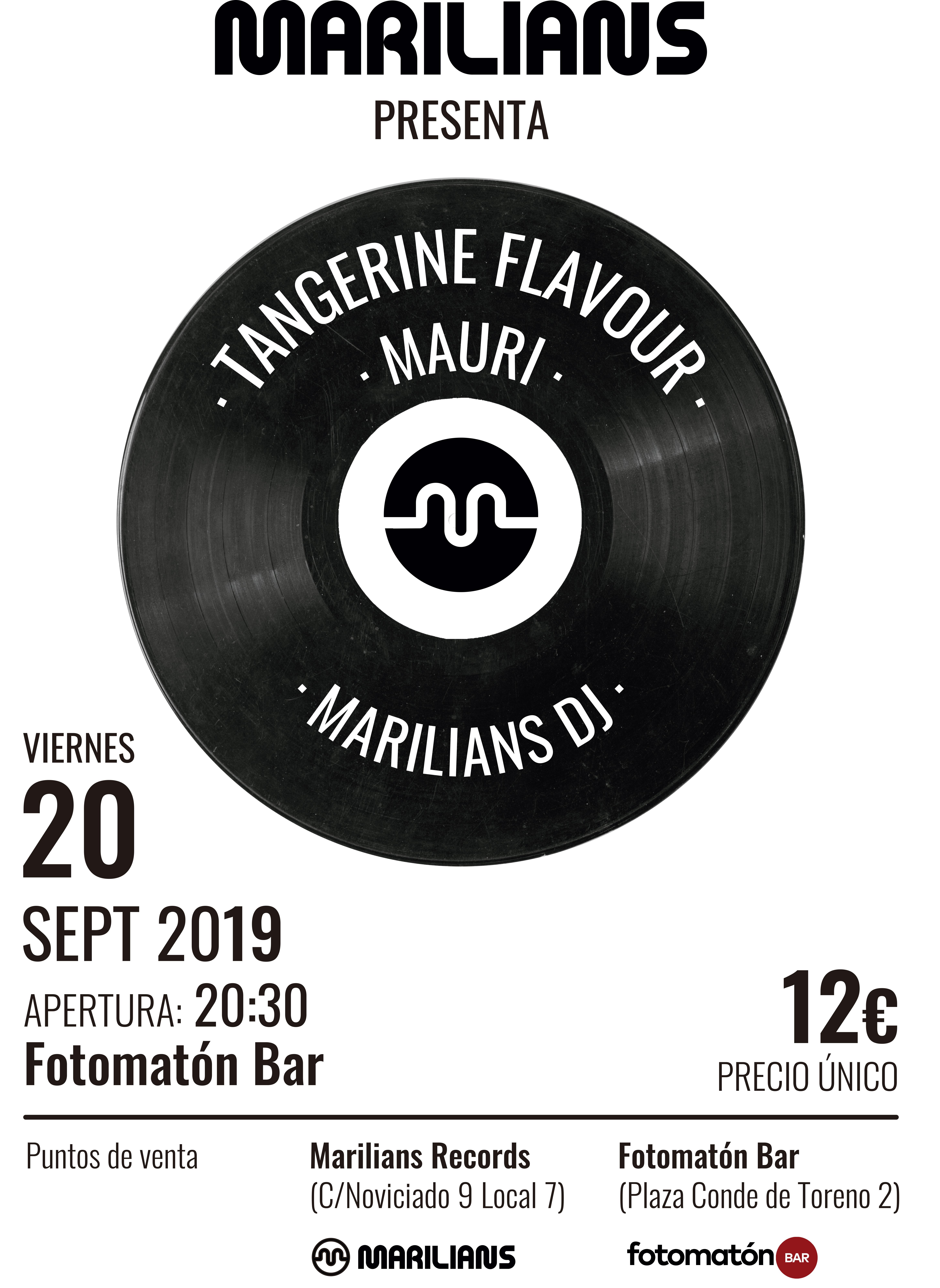 Marilians comienza la temporada acompañados de Tangerine Flavour y Mauri