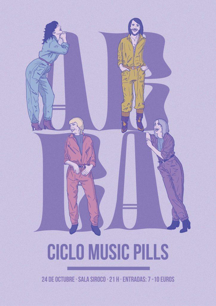 ABBA Music Pill se celebrará el 24 de octubre en Madrid