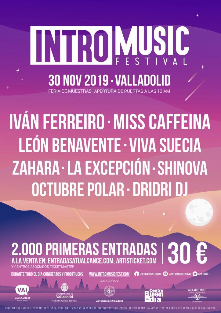 Intro Music Festival ha presentado su cartel para 2019