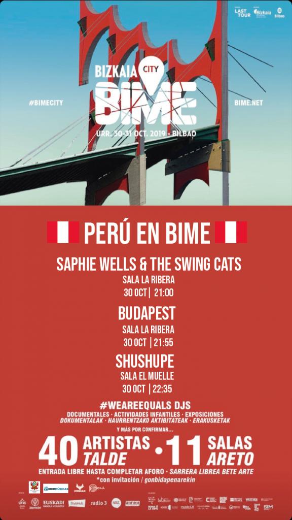 Perú también estará representado en el BIME 2019
