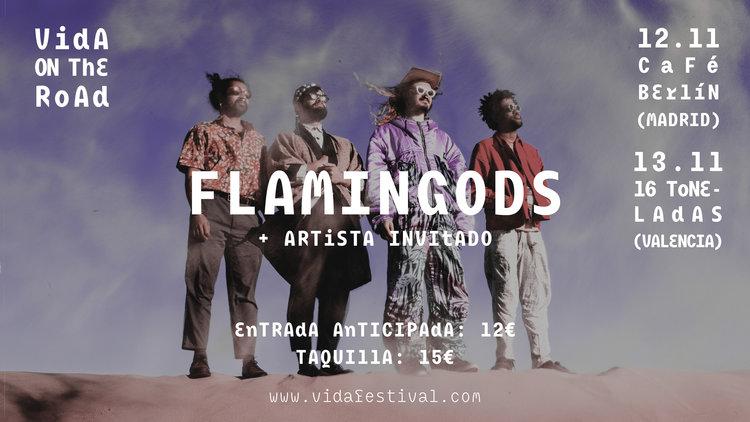 El Vida on the Road nos trae a The Flamingods a Madrid y Valencia