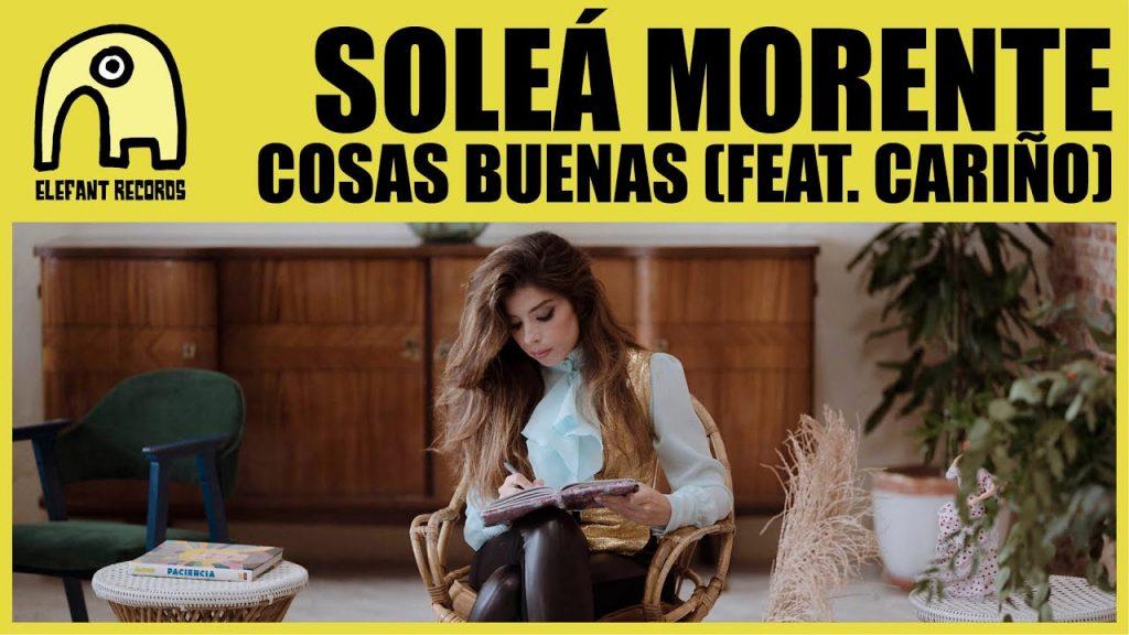 """Soleá Morente presenta nuevo single, """"Cosas Buenas"""""""