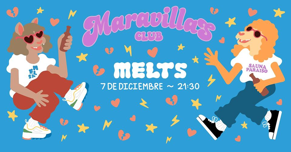 Melts presenta su primer EP hoy en la sala Maravillas
