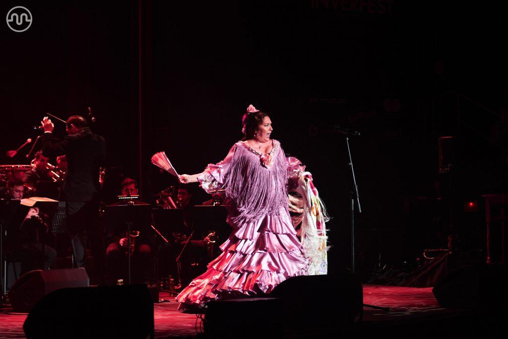 Estrella Morente brillando en su recital de copla en Madrid
