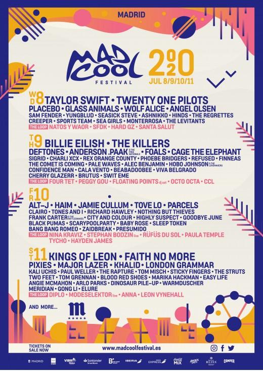 Mad Cool Festival suma treinta nuevos nombres a su cartel