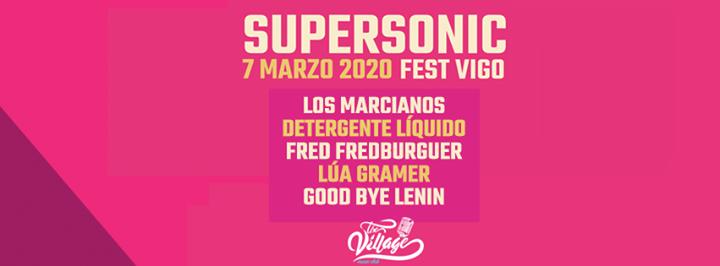 La primera edición delSupersonic Fest Vigo se celebrará el 7 de marzo