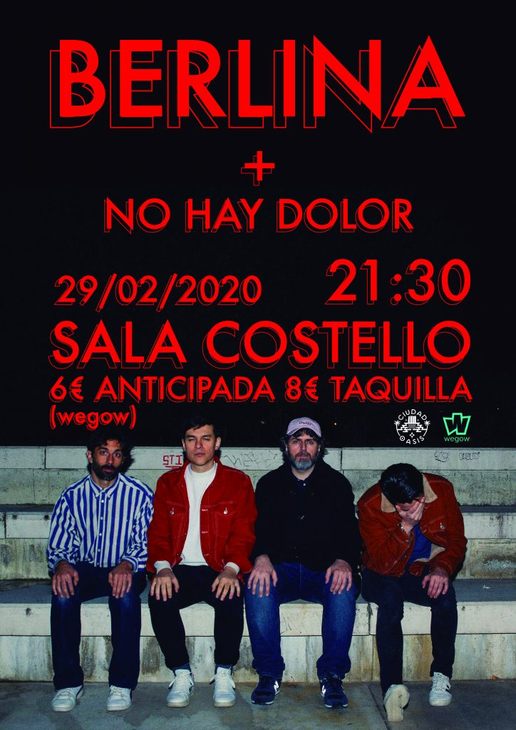"Berlina presenta ""Regresiones"" en la Costello de Madrid"