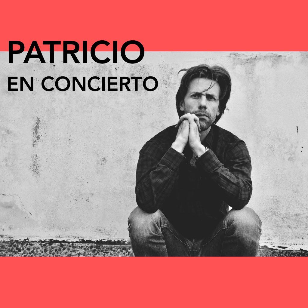 Patricio vuelve al Café Libertad 8 de Madrid el próximo jueves 20