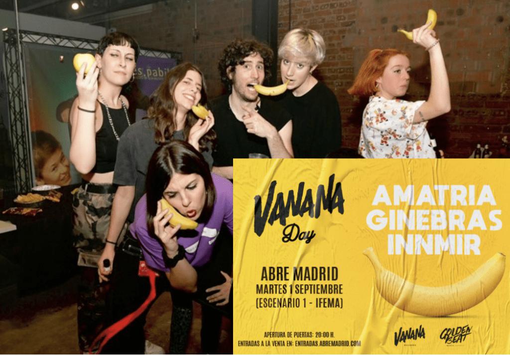 Amatria, Ginebras e INNMIR sobre el escenario de Abre Madrid