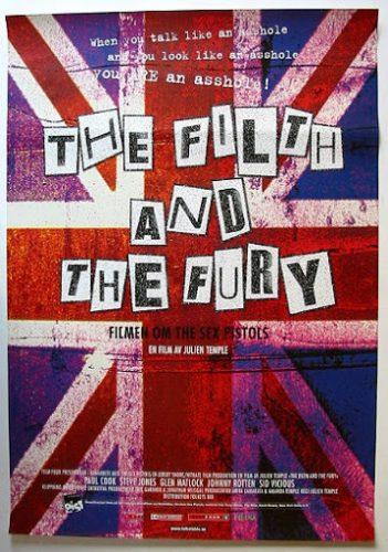 """""""The filth and the fury"""": Sex Pistols, embrión del Punk en Inglaterra"""