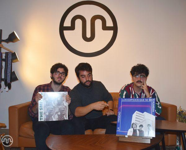 Firma de discos + showcase de La Trinidad en Marilians Records