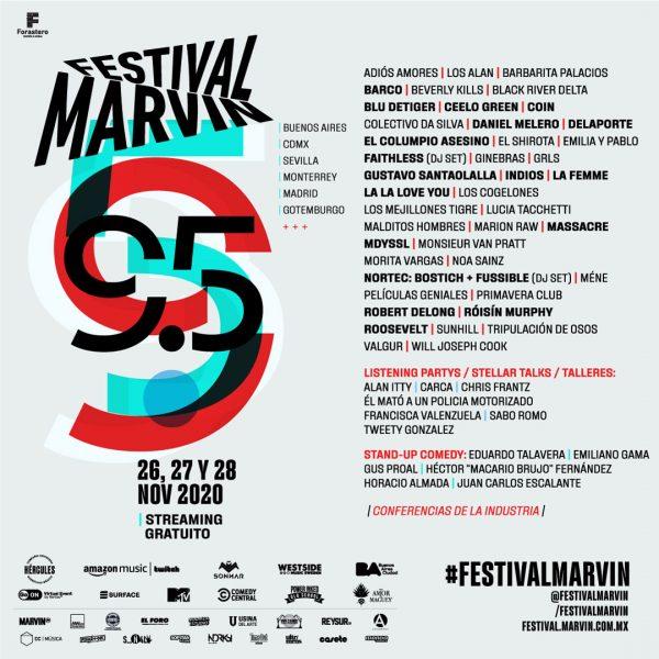 Pásate por el Festival Marvin los días 26, 27 y 28 de noviembre