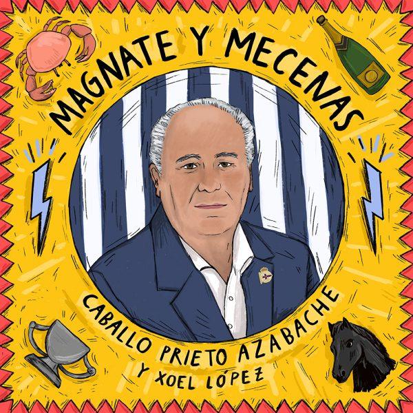 "Caballo Prieto Azabache publican ""Magnate y Mecenas"", nuevo single junto a Xoel López"