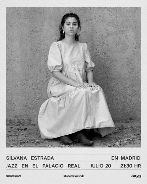 Silvada Estrada actuará en el Palacio Real el próximo 20 de julio