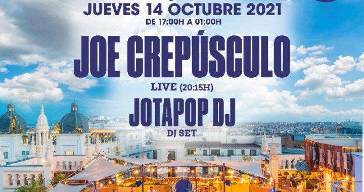 Joe Crepúsculo + Jotapop DJ en La Azotea del Low Club (Madrid)